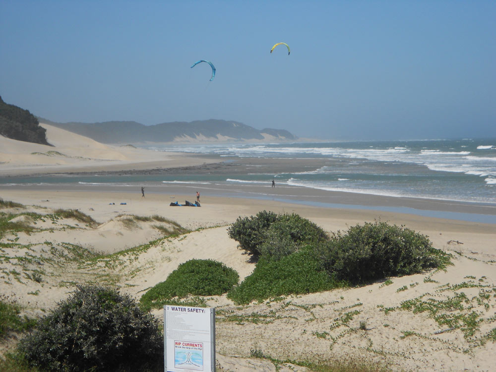 Nahoon Caravan Park - East London, Wild Coast, Eastern Cape, Self-catering camping accommodation